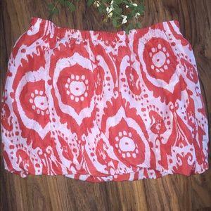 J.Crew bubble skirt size medium